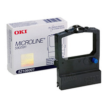 OEM Okidata 52106001 Black Ribbon