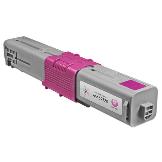 Compatible 44469720 HY Magenta Toner for Okidata