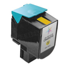 Toner Supplies for Lexmark Printers - Remanufactured C540H2YG High Yield Yellow Laser Toner Cartridges