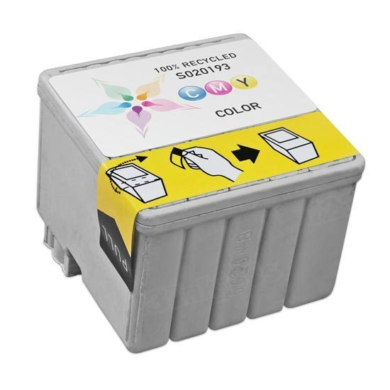 Epson Remanufactured S020193 (S193110) Color Inkjet Cartridge