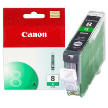 Canon CLI-8G Green OEM Ink Cartridge, 0627B002