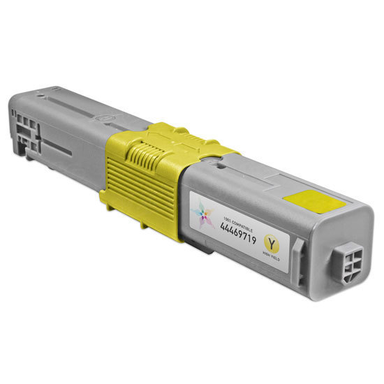 Compatible 44469719 HY Yellow Toner for Okidata