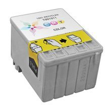Remanufactured Epson T001011 (T001) Color Ink Cartridges for the Stylus Photo 1200