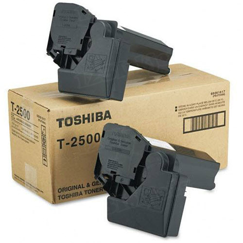 OEM Toshiba T-2500 Black Toner Cartridge