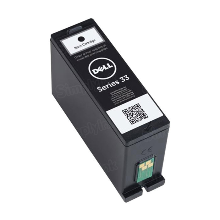 Dell 331-7377 Extra HY Black Ink, OEM