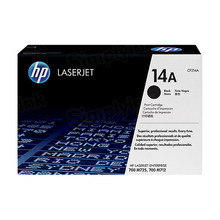 HP 14A (CF214A) Black Original Toner Cartridge in Retail Packaging