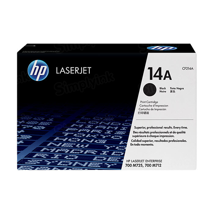 Original HP CF214A (14A) Black Toner