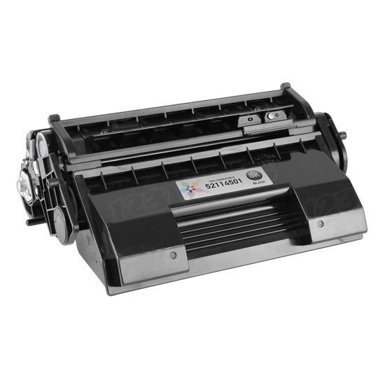 Okidata Compatible 52114501 Black Toner for B6200, B6300