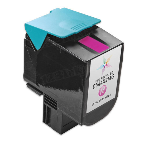 Remanufactured C544X2MG EHY Magenta Toner Cartridge for Lexmark