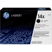 HP 14X (CF214X) Black High Yield Original Toner Cartridge in Retail Packaging