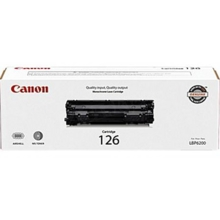 Canon 126 (2,100 Pages) High Yield Black Laser Toner Cartridge - OEM 3483B001