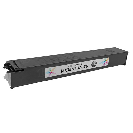 Sharp Compatible MX36NTBA Black Toner
