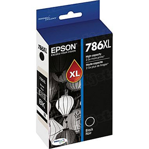 OEM 786XL HC Black ink for Epson