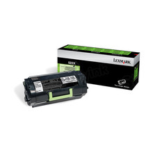 Lexmark OEM Extra High Yield Black Laser Toner Cartridge, 52D0XA0 (MS711DN / MS812DE) (45,000 Page Yield)