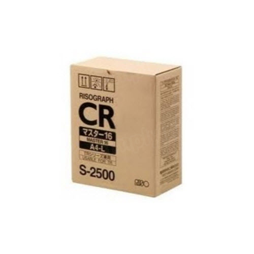 OEM Risograph S2500 Black Toner Cartridge