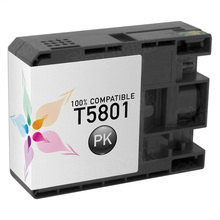 Compatible Replacement for Epson T580100 (T5801) Photo Black 80ml Ink Cartridges for the Stylus Pro 3800, 3880
