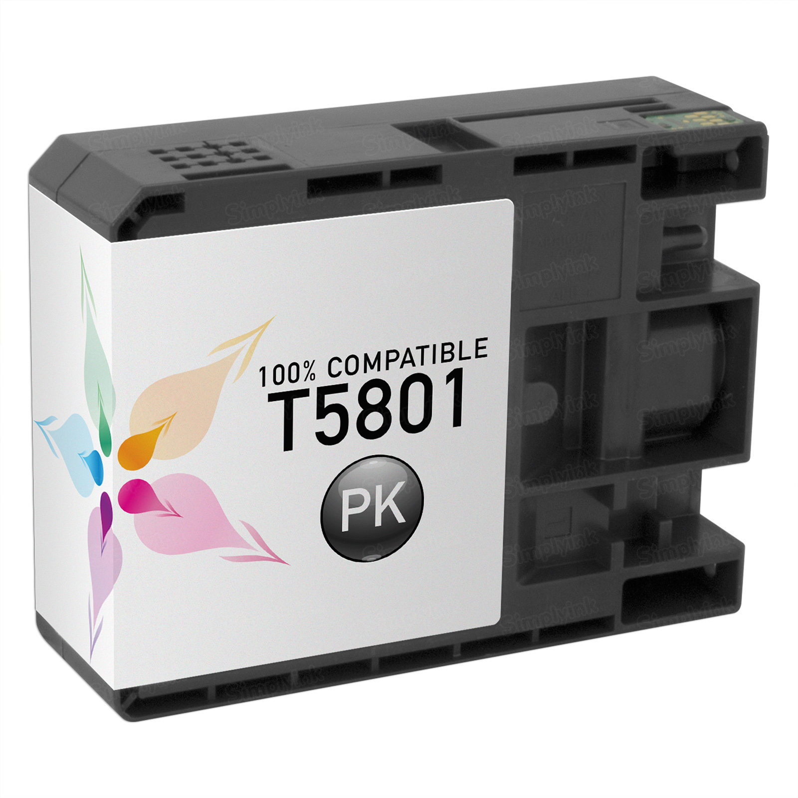Epson Compatible T580100 Photo Black Inkjet Cartridge for the Stylus Pro 3800