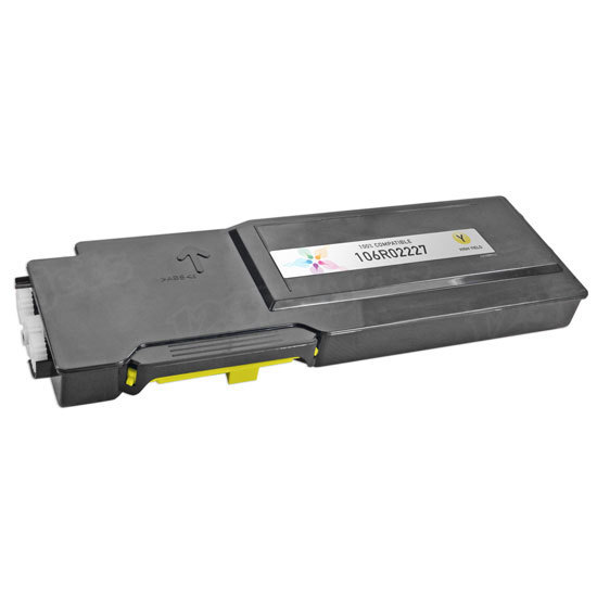 Compatible Xerox High Capacity Yellow Toner
