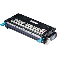 Genuine Dell RF012 Cyan Toner for 3110cn, 3115cn Laser Printers, 4K Yield