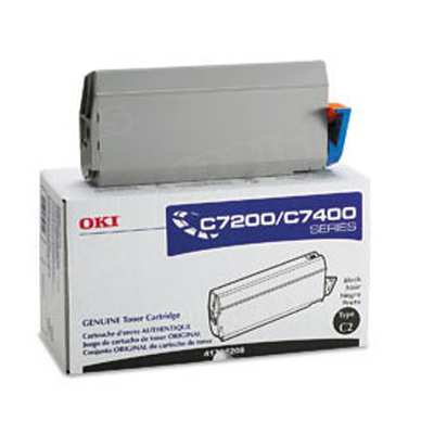 OEM Okidata 41304208 Black Toner Cartridge