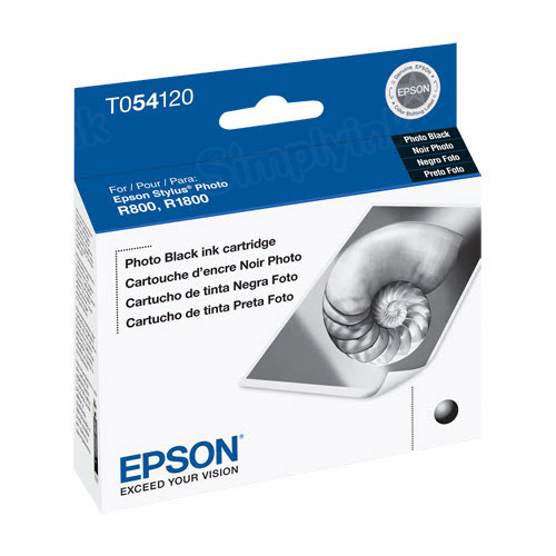 Epson T054120 Photo Black OEM Ink Cartridge