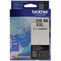 Genuine LC20EBK Super HY Black Ink for Brother