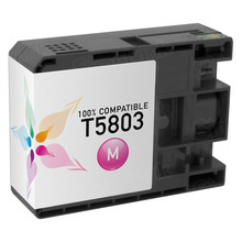 Compatible Replacement for Epson T580300 (T5803) Magenta 80ml Ink Cartridges for the Stylus Pro 3800, 3880