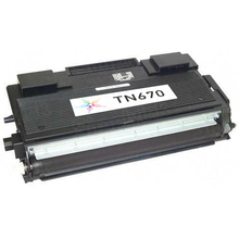 Remanufactured Brother TN670 Black Laser Toner Cartridge