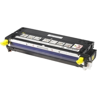 Genuine Dell 3110cn, 3115cn (NF555) Yellow Toner