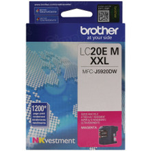 Genuine LC20EM Super High Yield Magenta Ink Cartridge for Brother