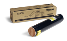 Xerox 106R01162 (106R1162) Yellow OEM Laser Toner Cartridge