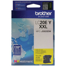 Genuine LC20EY Super High Yield Yellow Ink Cartridge for Brother