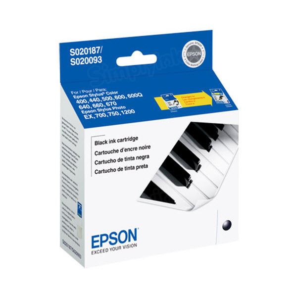 Epson S187093 Black OEM Ink Cartridge