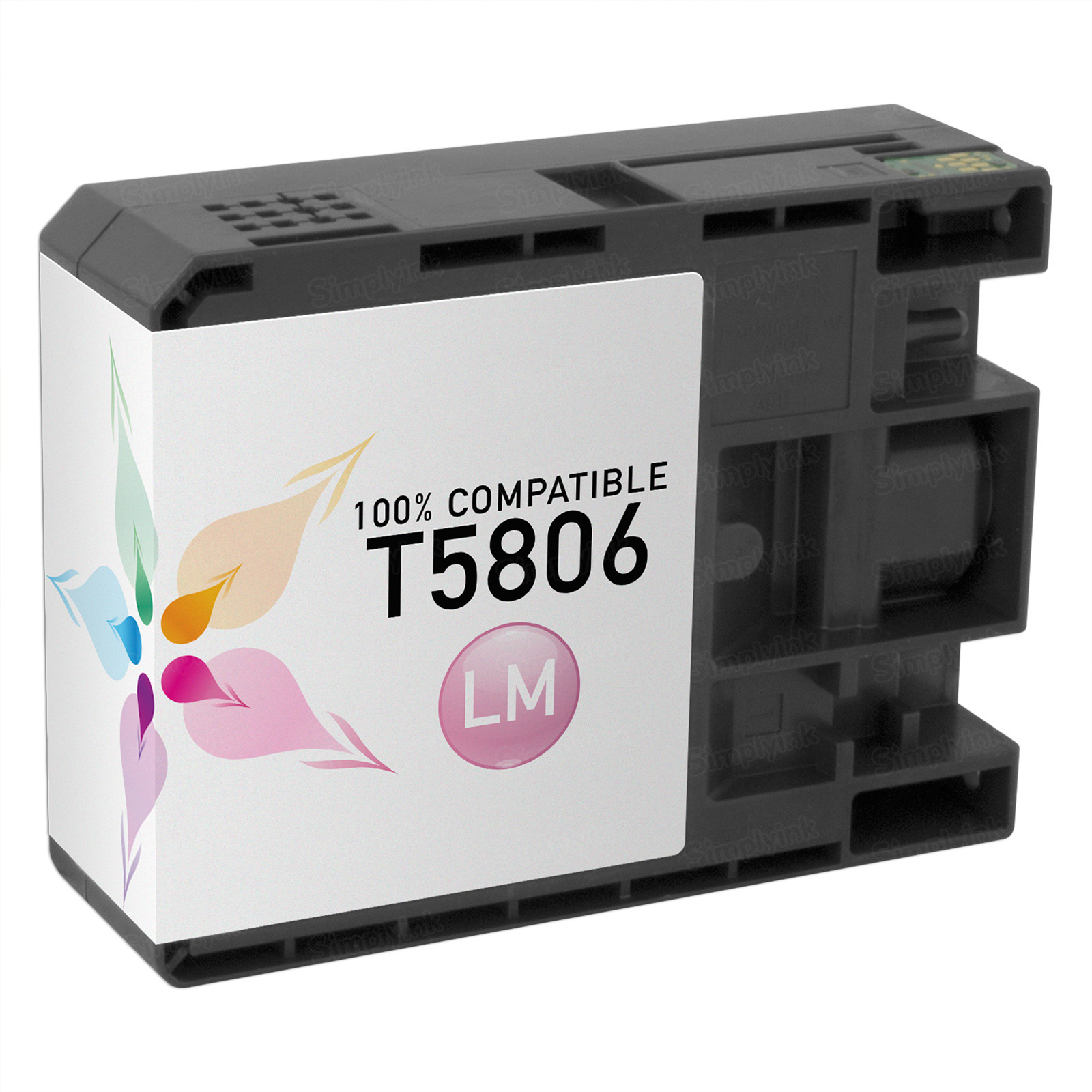 Epson Compatible T580600 Light Magenta Inkjet Cartridge for the Stylus Pro 3800