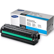 OEM Samsung CLT-C506L High Yield Cyan Laser Toner Cartridge 3.5K Page Yield
