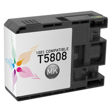 Compatible Replacement for Epson T580800 (T5808) Matte Black 80ml Ink Cartridges for the Stylus Pro 3800, 3880