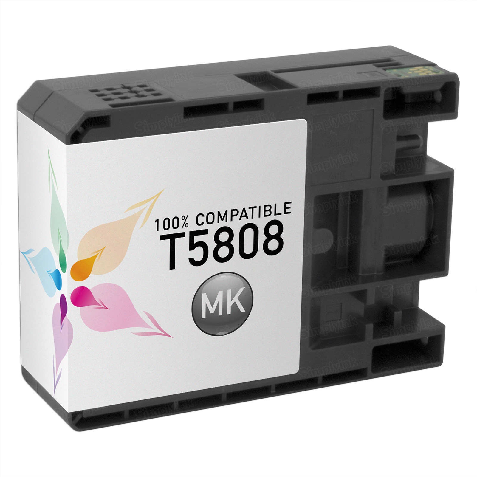 Epson Compatible T580800 Matte Black Inkjet Cartridge for the Stylus Pro 3800