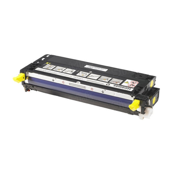Genuine Dell 3110cn, 3115cn (NF556) Yellow Toner