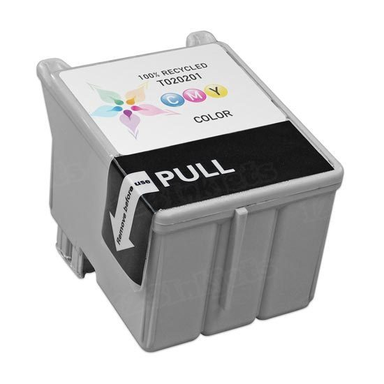 Epson Remanufactured T020201 (T020) Color Inkjet Cartridge