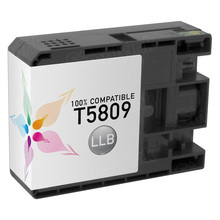 Compatible Replacement for Epson T580900 (T5809) Light Light Black 80ml Ink Cartridges for the Stylus Pro 3800, 3880