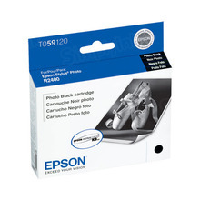 Original Epson T059120 Photo Black Inkjet Cartridge (T0591)