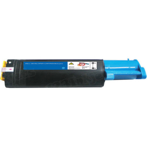 Original Dell (K5364) HY Cyan Toner Cartridge