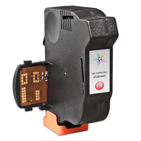 Remanufactured Replacement for Neopost 4145144H Fluorescent Red Ink for the IS280