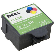 Original Dell Color Ink (Series 20) DW906, C939T