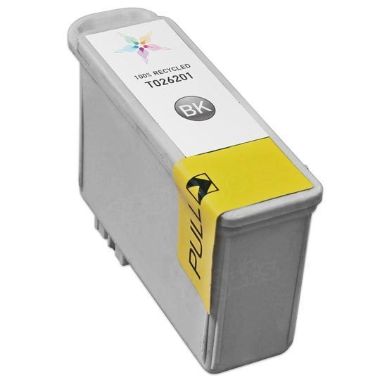 Epson Remanufactured T026201 Black Inkjet Cartridge