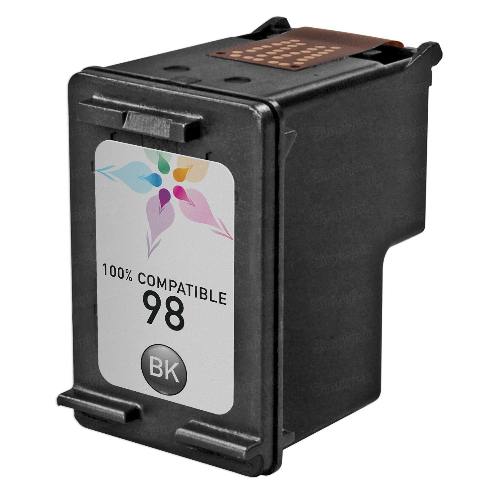 Remanufactured Replacement Black Ink for HP 98