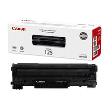 Canon 125 (1,600 Pages) High Yield Black Laser Toner Cartridge - OEM 3484B001AA