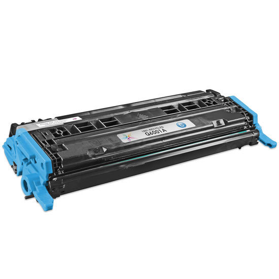 Remanufactured Replacement Cyan Laser Toner for HP 124A