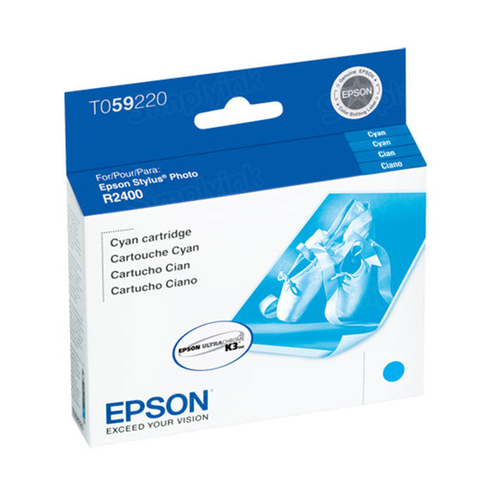 Epson T059220 Cyan OEM Ink Cartridge
