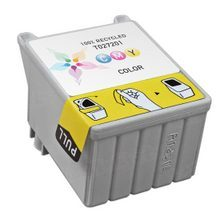 Remanufactured Epson T027201 (T027) Color Ink Cartridges